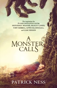 Book cover for A Monster Calls by Patrick Ness