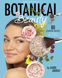 Book cover for Botanical Beauty by Aubre Andrus