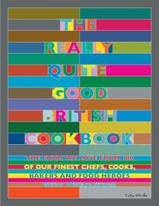 Book cover for Th Really Quite Good British Cookbook