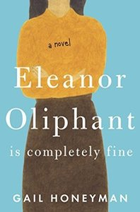Book coverer Eleanor Oliphant is Completely Fine by Gail Honeyman
