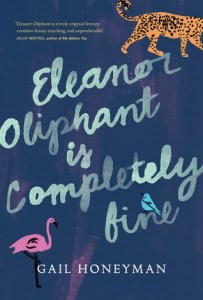 Book cover for Eleanor Oliphant is Completely Fine