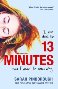 Review, Playlist & Dream Cast: 13 Minutes by Sarah Pinborough