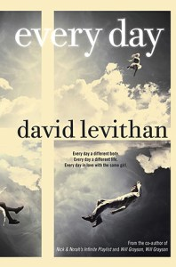 Book cover for Every Day by David Levithan.