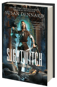 Sightwitch by Susan Dennard book cover.