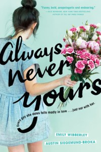 Wishlist Wednesday: Always Never Yours by Emily Wibberley