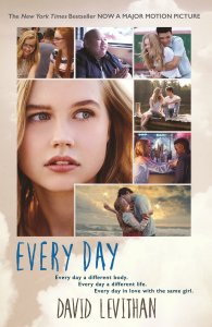 Book vs. Movie: Every Day by David Levithan