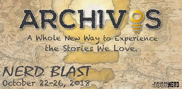 Nerd Blast & Giveaway: Archivos by Dave Robison