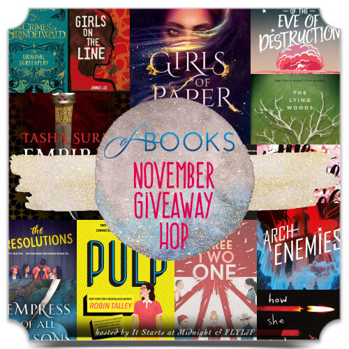 Book Giveaway Hop: November 2018 New Releases