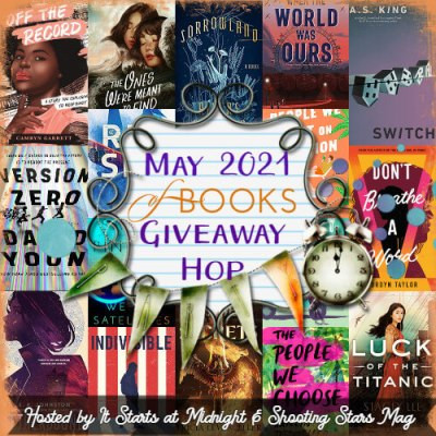 may 2021 book giveaway