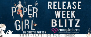Banner for Paper Girl Book Blitz