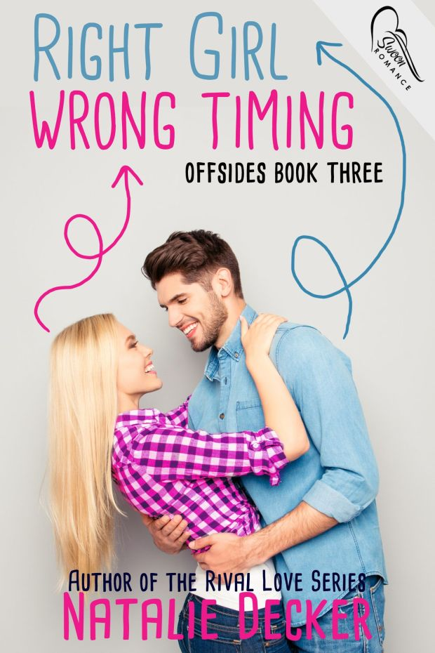Book cover for Right Girl Wrong Timing