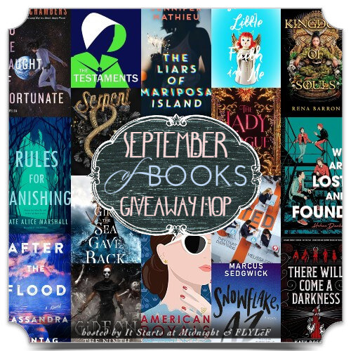 September Book Giveaway