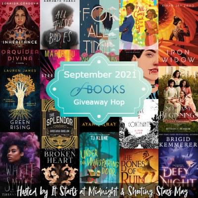September 2021 book giveaway