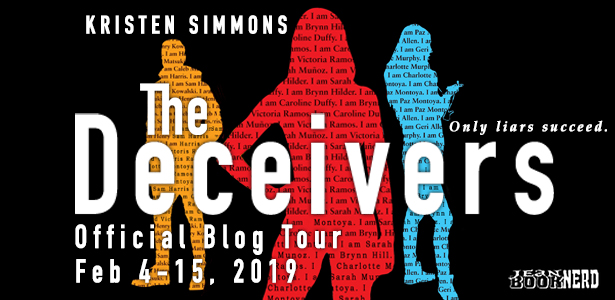 Review & Giveaway: THE DECEIVERS by Kristen Simmons
