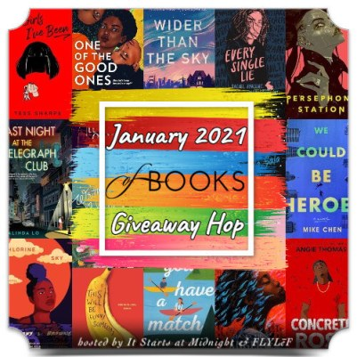 January 2021 Book Giveaway