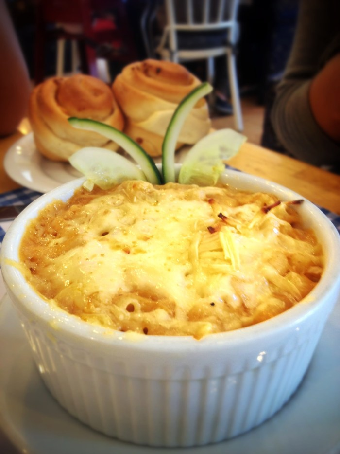 Baked Chicken Macaroni by Mom and Tina's Bakery & Cafe