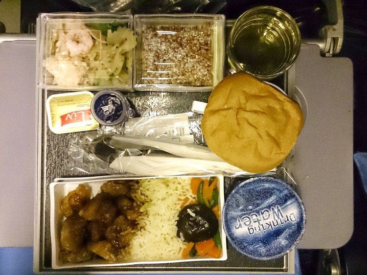 Singapore Airlines Inflight Meals