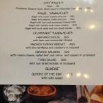 Dean & Deluca Manila Philippines menu 1