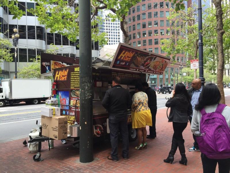Halal Cart San Francisco 2