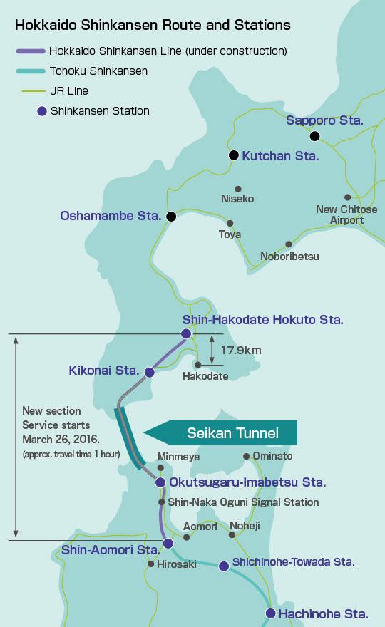 jr hokkaido shinkansen hakodate Best ways to travel from Tokyo to Sapporo
