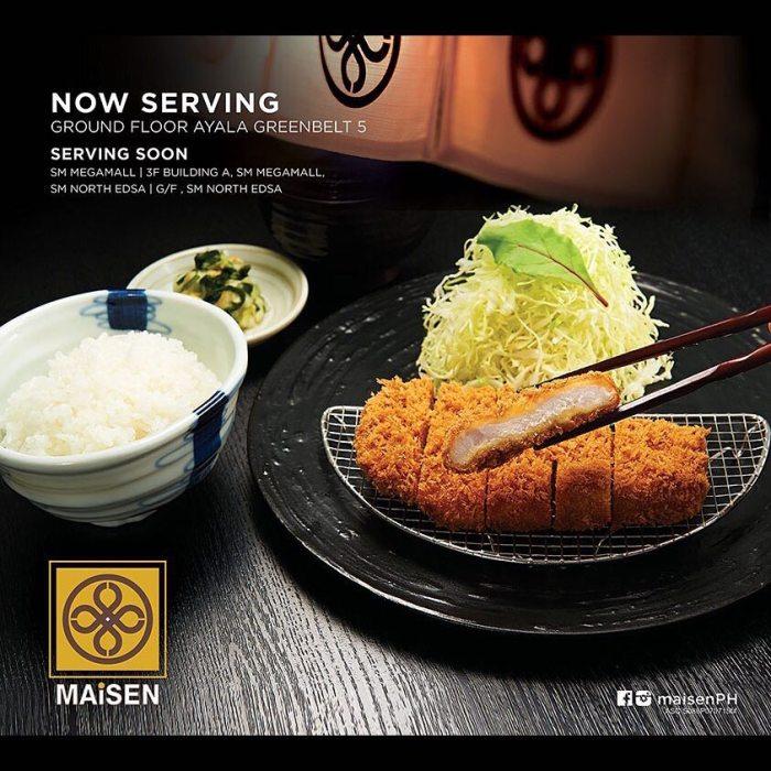 Maisen Philippines Restaurants to try in Metro Manila 2015