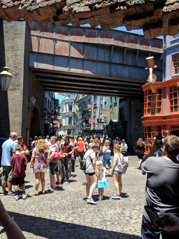 harry potter world universal studios orlando florida 1