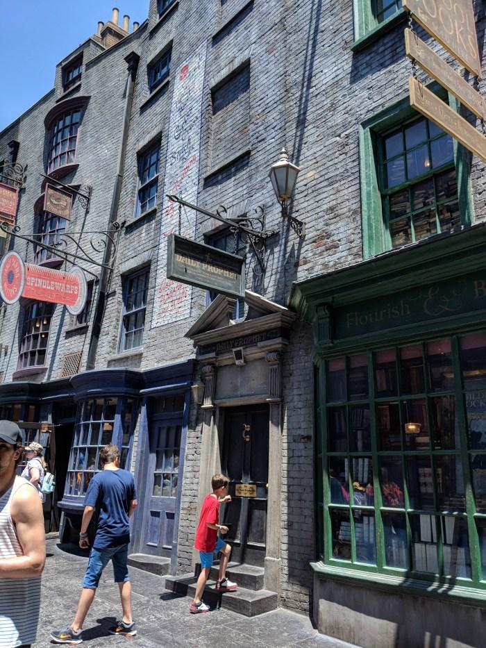 harry potter world universal studios orlando florida 1