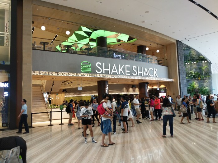 Shake Shack Singapore Jewel Changi 2