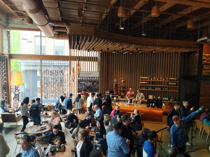 Starbucks Roastery and Tasting Room Seattle 9