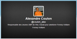 Coulon Twitter tête