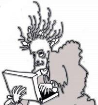 Voltaire ebourriffe Gegout