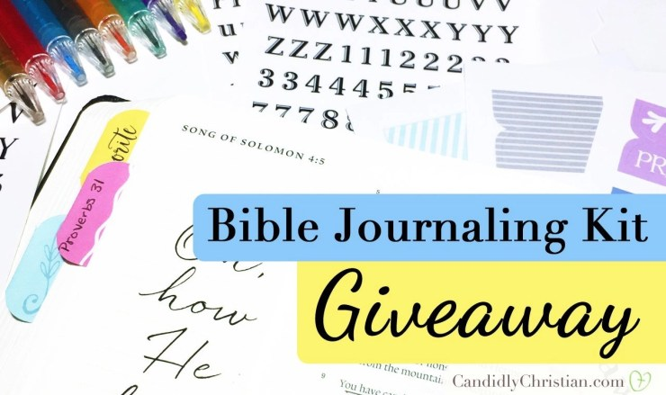 Bible Journaling Kit Giveaway