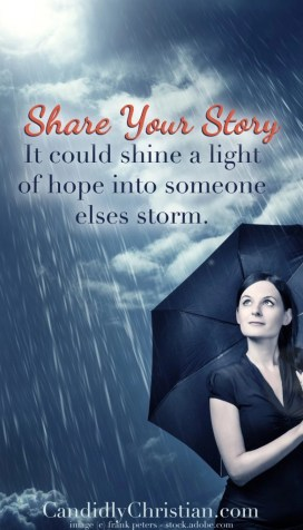 never give up and share your story