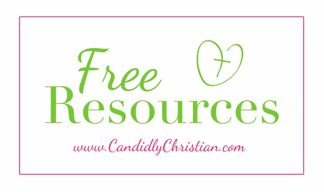 Free Resources for Christian Women on Candidly Christian