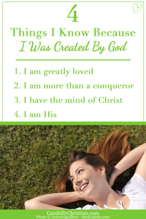 This is what my Creator says about me...