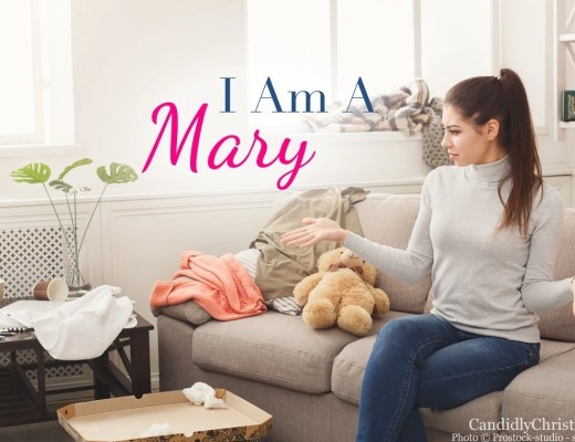 It's okay to be a Mary in a world full of Martha's