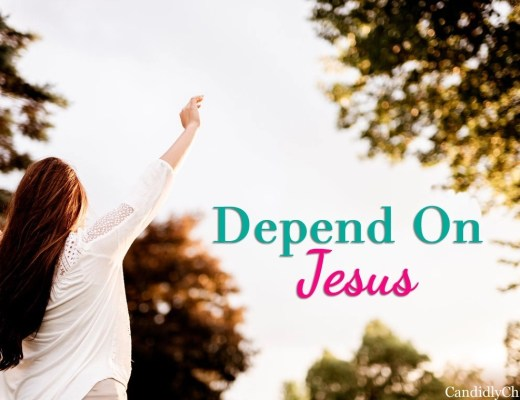 Depend on Jesus