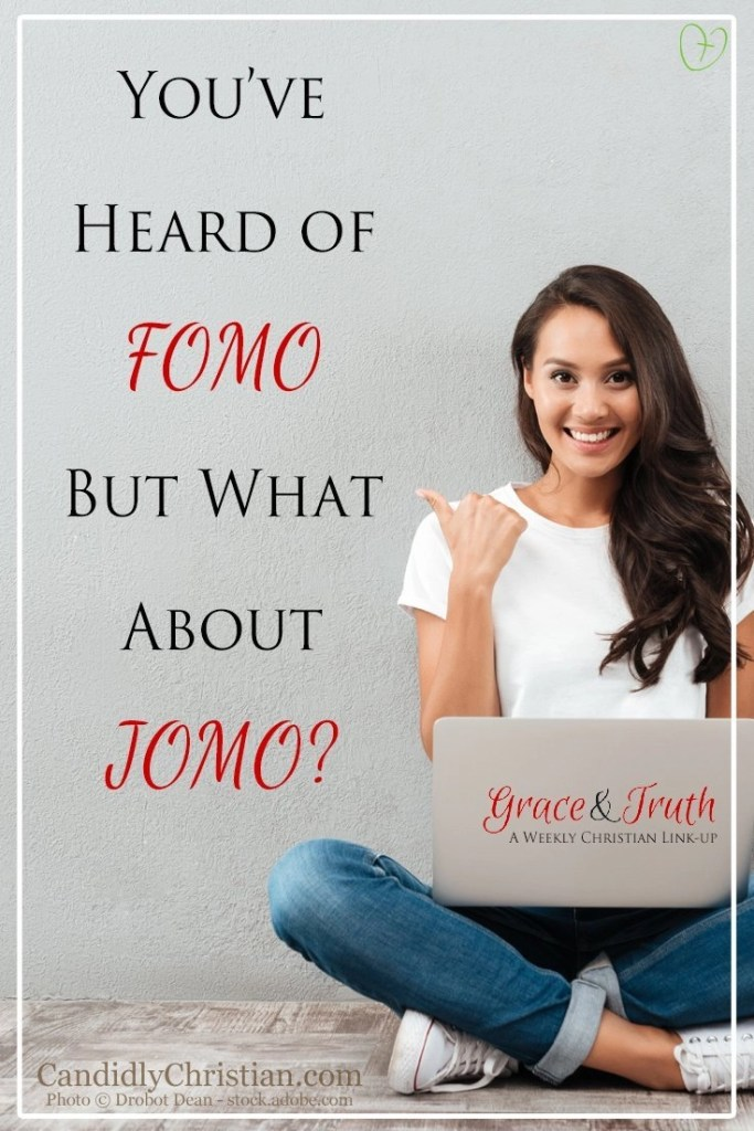 You've heard of FOMO (fear of missing out) but what about JOMO? #ChristianLinkUp