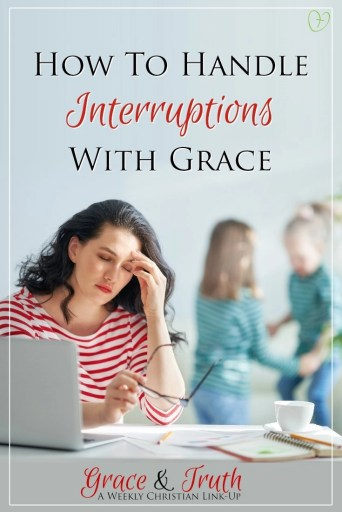 How to handle interruptions with grace #lifehappens