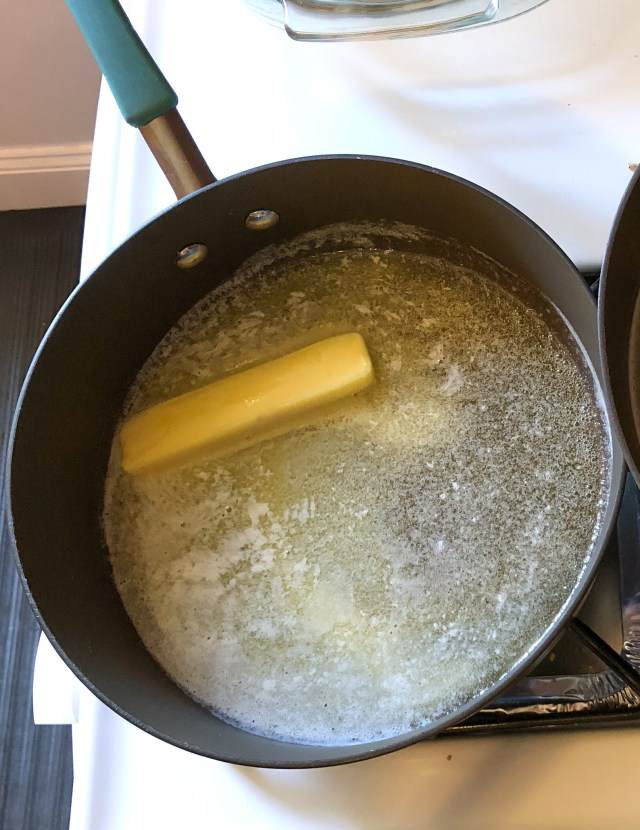 Melt the butter