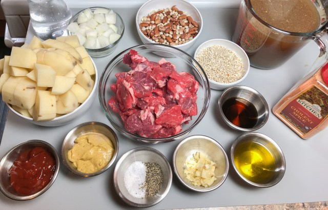 Classic Chulent Ingredients