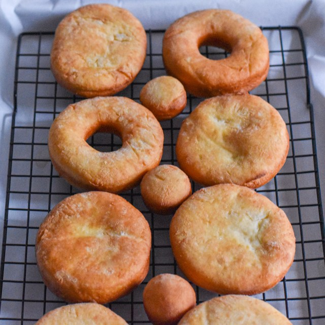 Basic Yeast Donut by Candidly Delicious is a baked from scratch treat for dessert or breakfast.