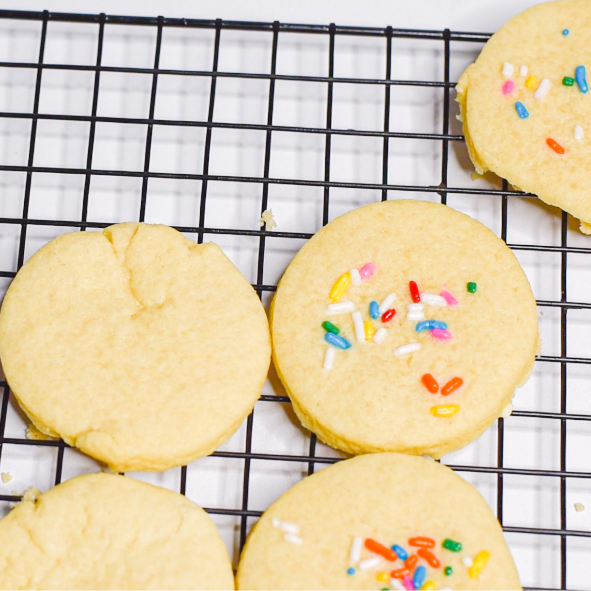 Soft Sugar Cookies by Candidly Delicious