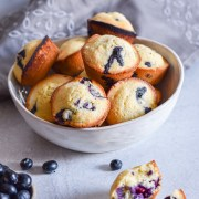 Classic Blueberry Muffins by Candidly Delicious