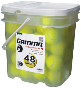 GAMMA bucket with 48 pressureless ones