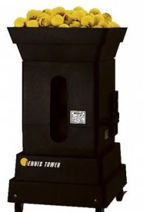Best Tennis Ball Machine Har-TruWilson Portable Tower Competitor