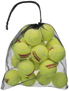 Tourna Mesh Carry Bag of Tennis Balls