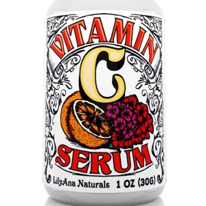 LilyAna Naturals Vitamin C Serum for Face Acne and Eyes