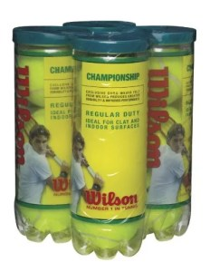 Tennis Ball Wilson Championship Regular Duty
