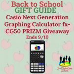 Casio Next Generation Graphing Calculator fx-CG50 PRIZM Giveaway [Ends 9/10]